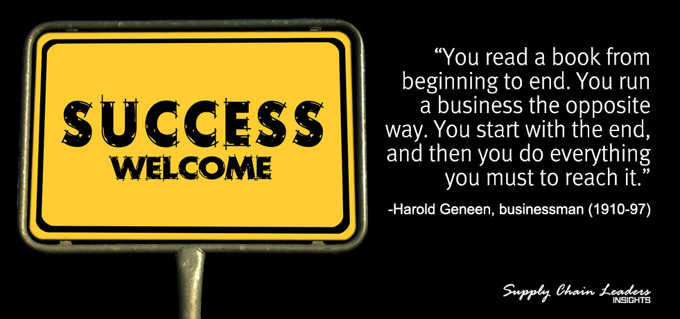 Harold Geneen Quote About Success