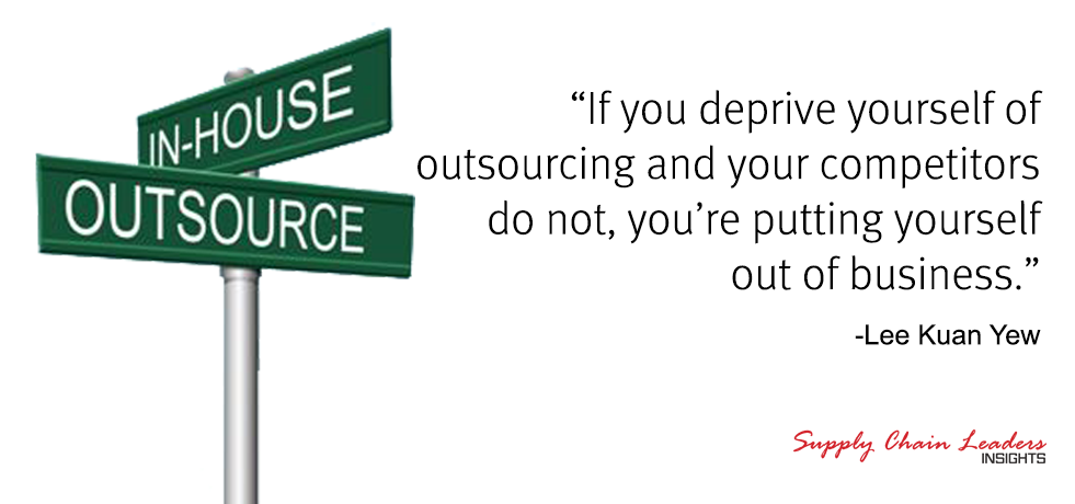 Lee Kuan Yew Outsourcing Quote
