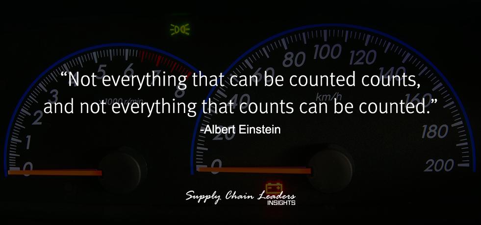 Albert Einstein Counting Quote