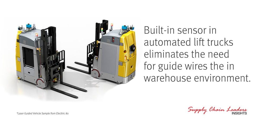 Automated Lift Trucks in the Warehouse