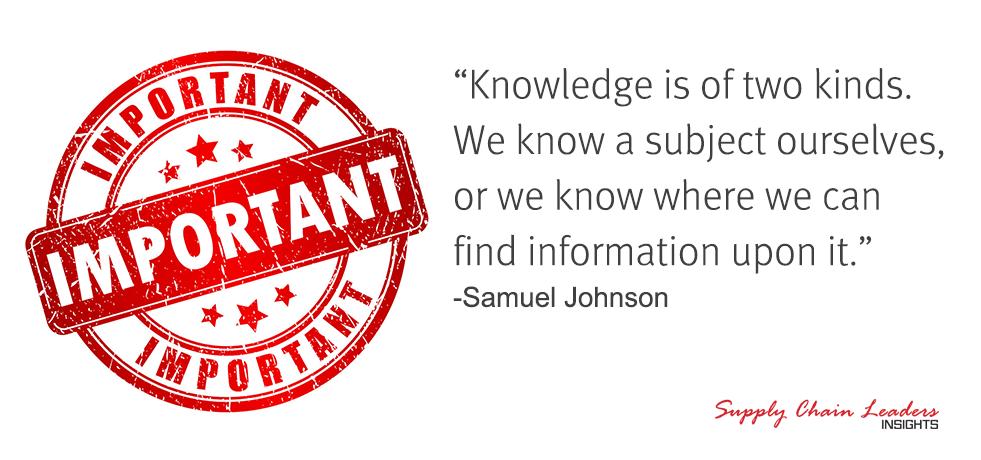 Samuel Johnson Knowledge Quote