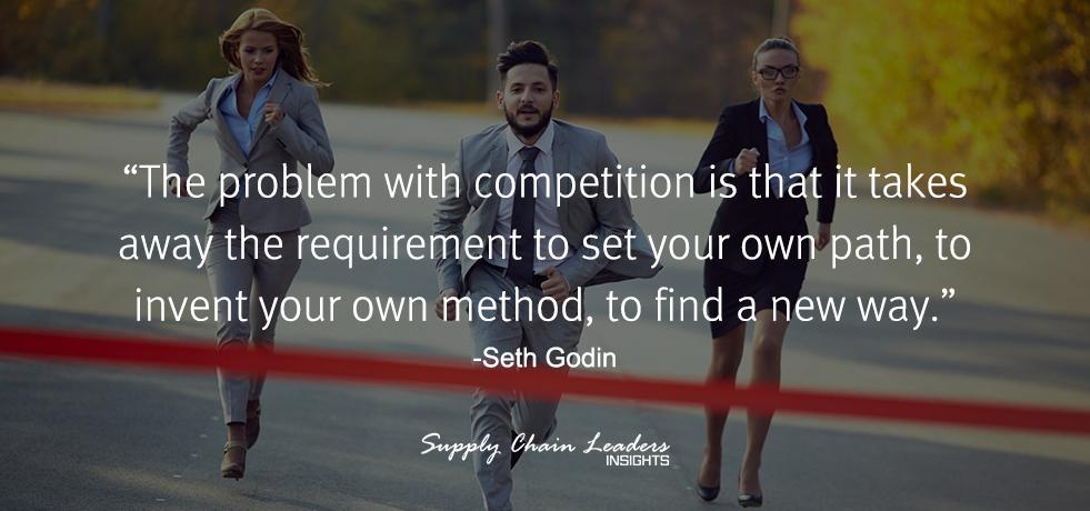 Seth Godin Competition Quote