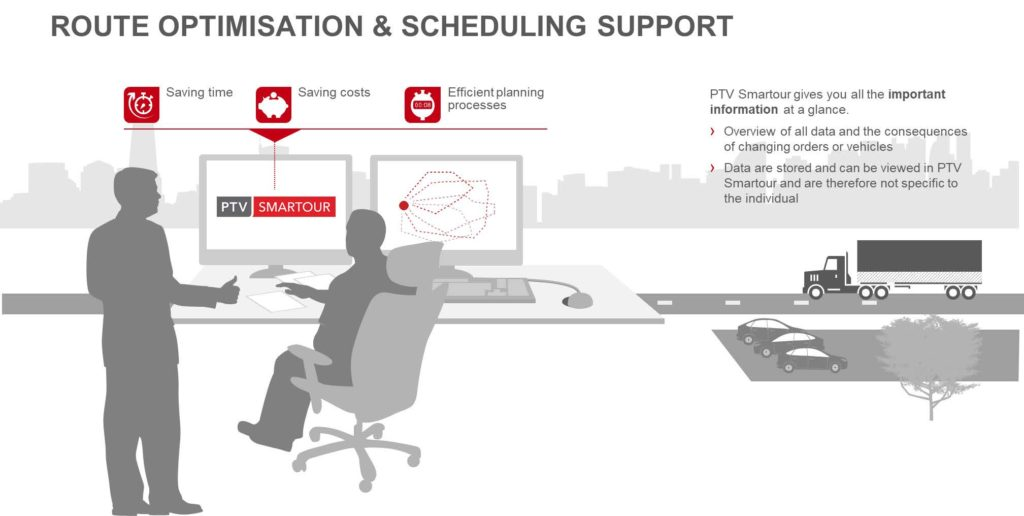 Route Optimisation and Scheduling Support