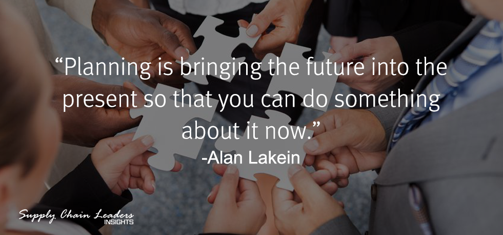 Alan Lakein Quote about Planning