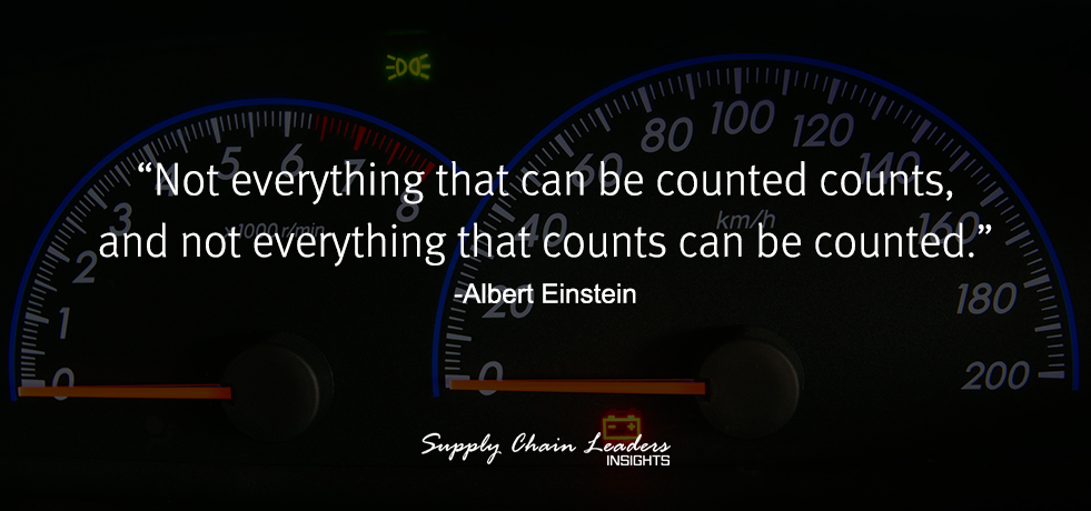 Albert Einstein Counting Quote