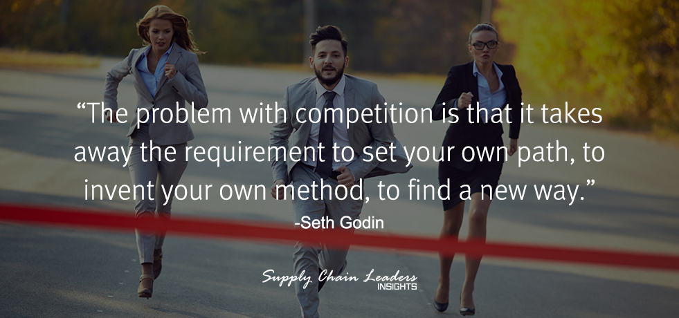 Seth Godin Competition Quote